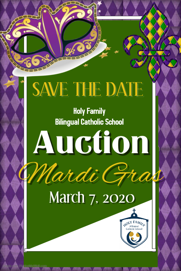 2020 Auction Save the Date